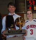 Lee-Scott Academy Coach Chad Prewett
