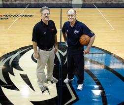John Carter (Noah President & CEO) and Dallas Maverics Shooting Coach Gary Boren