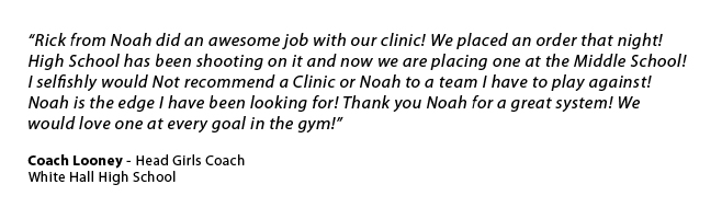 Coach Looney Shooting Clinic Quote